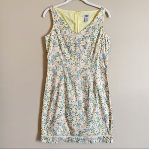 🌻 OLD NAVY - yellow flowered dress - size 4